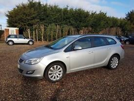 Vauxhall/Opel Astra 1.7CDTi 16v ( 110ps ) 2011MY Exclusive