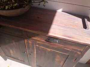 Solid wood antique large cabinet/cupboard/buffet