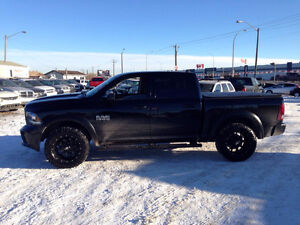 2013 Dodge Power Ram 1500 6 Speed Sports 4 x 4 Pickup Truck