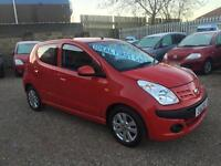 2012 Nissan Pixo 1.0 12v N-TEC Red 5dr Hatch, **ANY PX WELCOME**