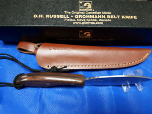 Grohman belt knife #1. New in box