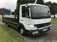 Mercedes Atego 816 7.5 Tonne 20ft Dropside With Tail Lift, Very Low Mileage