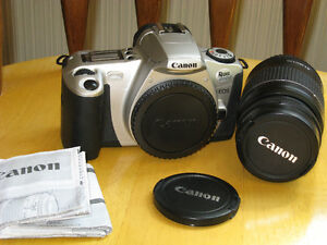 Canon 35mm EOS Rebel 2000 Camera and Lens (Not Digital)