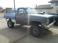 1986 Chevy Truck - Supercharged & Lifted - TRADE FOR MOTORHOME