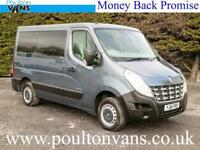 2011 (61) RENAULT MASTER SL28 L1H1 SWB 2 SEAT WHEELCHAIR/DISABLED ACCESS MINIBUS
