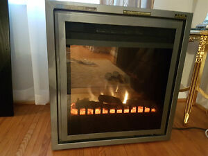 Moving Sale: Electric Fire Place