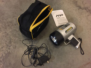 MVP Rechargeable Flashlight/1,000,000 Candle Power Spotlight
