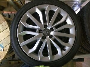 Audi A6 authentic mags (x4) + Falken Summer Tires (x4)