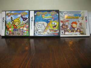 Ninentdo DS Drawn to Life (2) and Nintendo 3 DS Scribblenauts