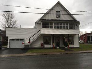 maison semi commerciale à vendre
