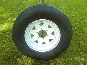 roues avec pneu pour remorque vr caravanes remorques pi ces et accessoires dans qu bec. Black Bedroom Furniture Sets. Home Design Ideas