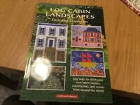Quilting by book Log Cabin