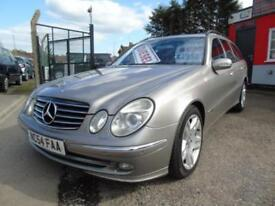 2004 Mercedes Benz E Class E270 CDI Avantgarde 5dr Tip Auto Estate full servi...