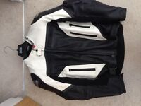 Dainese leather jackets men's as new worn twice