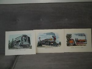 Several train books and prints suitable for framing Belleville Belleville Area image 6