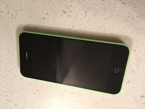 iPhone 5C, green, 8G, Bell