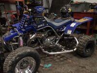Yamaha banshee not raptor Honda cr kx rm