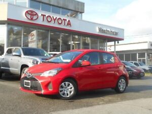 2015 Toyota Yaris 5 Door Hatchback