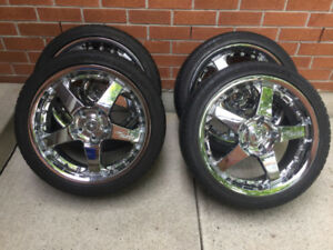 "5ZIGEN  ""18 Chrome Wheels"