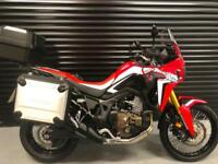 67 Honda CRF 1000 DCT Africa Twin Full Honda Luggage *Only 400 Miles*
