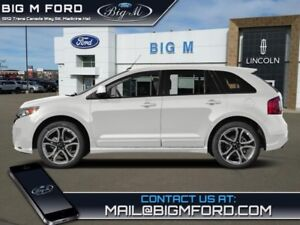 2014 Ford Edge Sport  - Leather Seats -  Bluetooth - $214.97 B/W