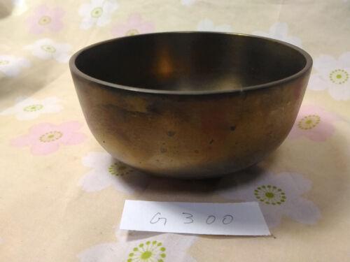 "4.193"" Japanese Vintage Buddhist Bell Zen Gong Rin G300 Good Sound"