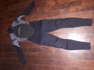 Diving suit, wet suit