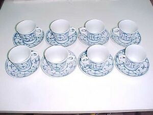16 PIECE EAST GERMAN COFFEE SET