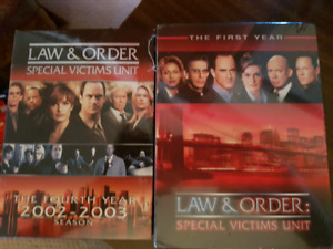 DVD Law and Order SVU