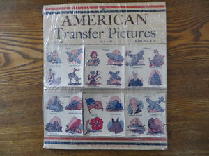 AMERICAN TRANSFER PICTURE TATOO NOS 1940'S