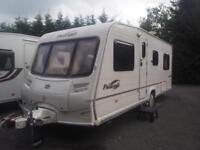 Bailey Pageant Burgundy Series 5 2006 Fixed Bed 4 Berth