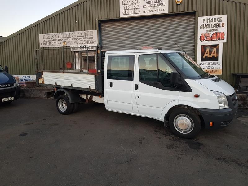6921d26572 Ford Transit 350 C C DRW Tipper No VAT To Add