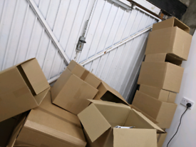 Empty boxes ideal for moving