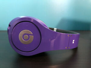 Beats By Dre Studios Original Headphones (Purple)