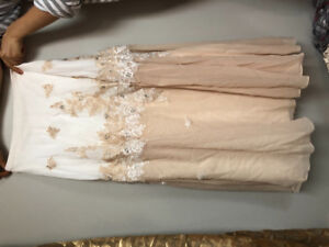 Prom dress (two pieces long dress)