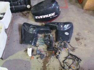 90 hp evinrude E-tec parts