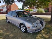 Jaguar S-TYPE 4.0 auto V8. ONE PREVIOUS OWNER. MAIN DEALER HISTORY. MOT, 08/2019