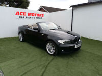 2011 61 BMW 120d 2.0TD M-SPORT 177 CONVERTIBLE,64000 MILES FULL SERVICE HISTORY