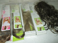 """JESSICA SIMPSON"" CLIP-IN HAIR EXTENSIONS~22"" AND 23""~ BRAND NEW"