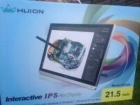 Interactive IPS pen display 21.5 inch