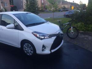 Toyota Yaris 2015 comme neuve  garantie prolongée 08/2020