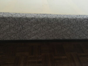 Twin and Queen Bed Mattress Spring Box Kitchener / Waterloo Kitchener Area image 1