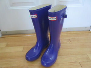 NEW GIRL HUNTER RUBBER BOOTS SIZE 1