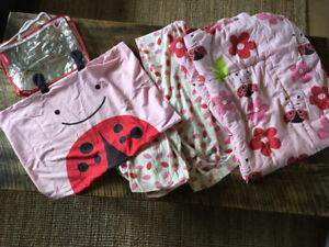 Skip Hop ladybug toddler bedding