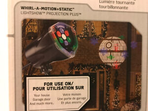 Holiday Projector Star Wars Brand New Half Price Only ~ $15