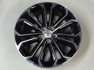 4 MAGS 5X100 TOYOTA 17 INCH POUCE LIKE NEW 100% PERFECT 2017