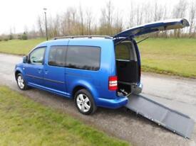 2013 13 Volkswagen Caddy Maxi Life 1.6 Tdi 29K WHEELCHAIR ACCESSIBLE VEHICLE WAV