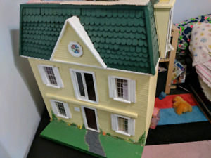 Wooden doll house $50