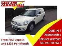 2013 MINI CLUBVAN A C NO VAT 1.6 Cooper D Van