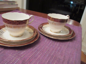 Royal Standard England - Cup Saucer and bread plates x 2 sets